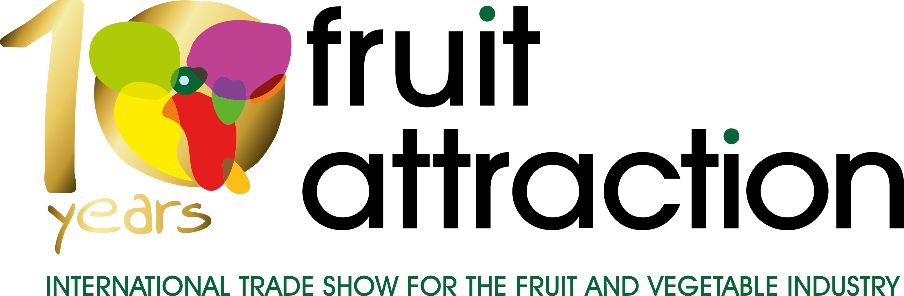 Logo 10 years Fruit Attraction con leyenda_ing