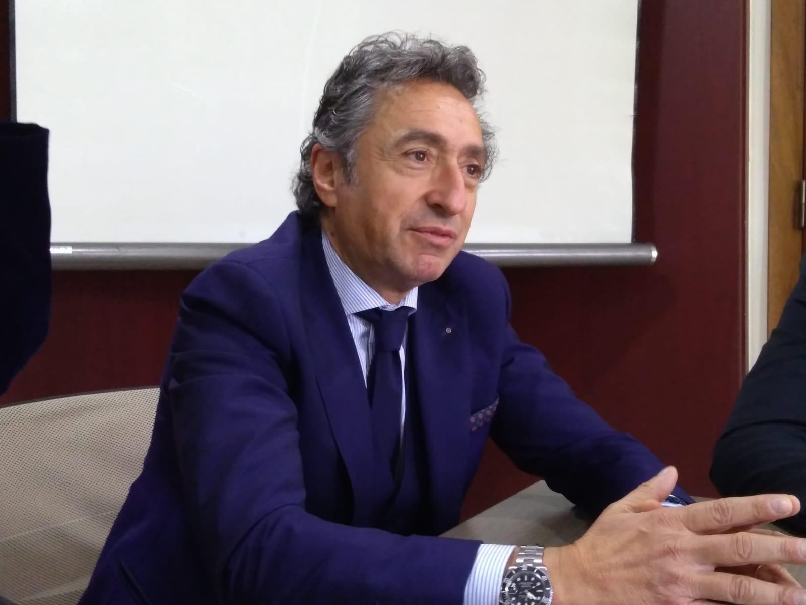 Il Presidente Valentino Di Pisa