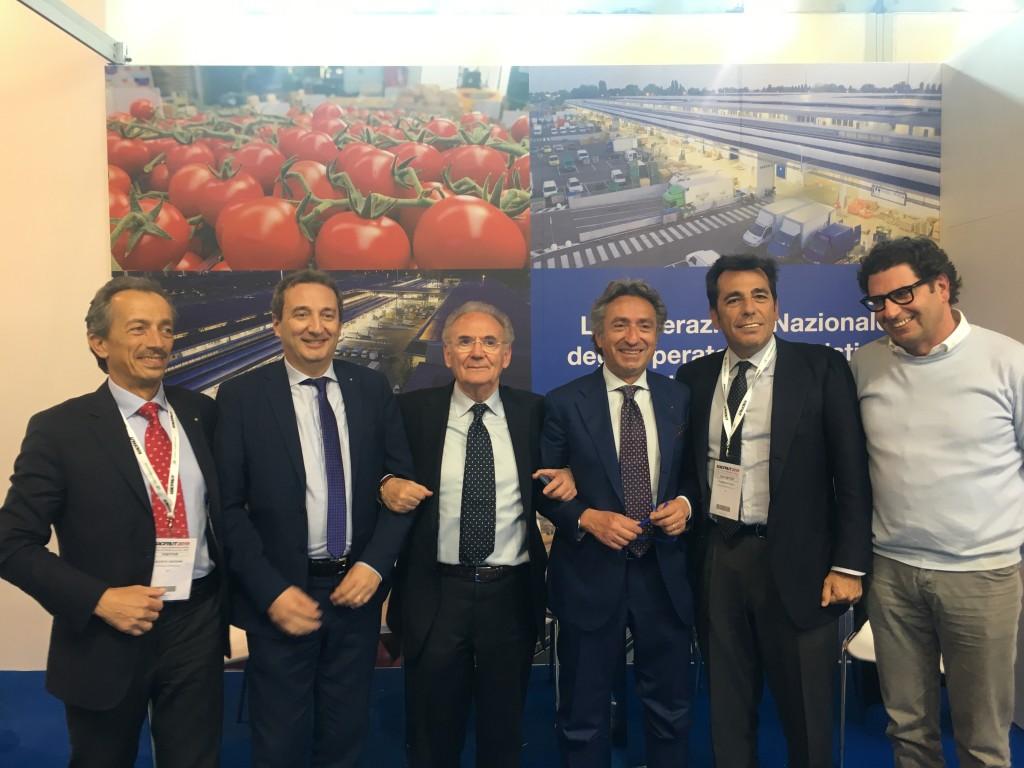 Da sinistra: Stefano Franciolini, Francesco Cera, Ottavio Guala, Valentino Di Pisa. Fabio Massimo Pallottini, Aurelio Baccini